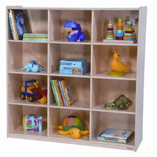 <strong>Wood Designs</strong> Twelve Section Cubby Storage
