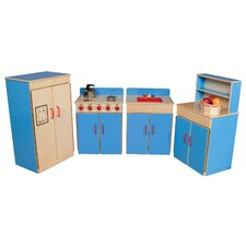 <strong>Wood Designs</strong> 4 Piece Classic Appliance Set