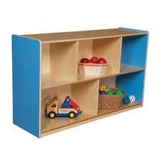 "30"" Mobile Single Storage Unit with Hardboard Back"