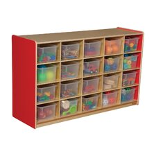 Twenty Tray Storage Unit 20 Compartment Cubby