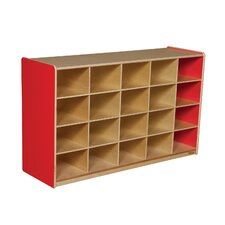 Twenty Tray Storage Unit 20 Compartment Cubby