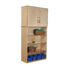 <strong>Wood Designs</strong> Vertical Storage Cabinet