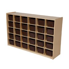 "<strong>Wood Designs</strong> Natural Environment 54"" Storage Unit"
