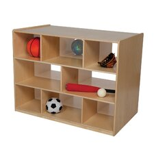"<strong>Wood Designs</strong> Natural Environment 36"" Double Storage Island"