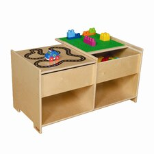 <strong>Wood Designs</strong> Build-N-Play Table with Racetrack