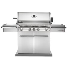 "28"" Prestige Gas Grill with Rear Infrared Burner"