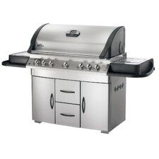 Mirage Gas Grill with Infrared Rear and Side Burner