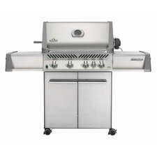 Prestige I P500RB Gas Grill with Rear Burner and Doors