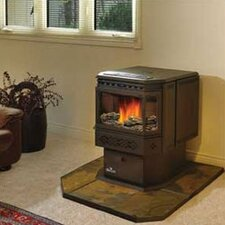 Pellet Stove Decorative Log Set