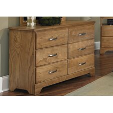 <strong>Carolina Furniture Works, Inc.</strong> Sterling 6 Drawer Dresser