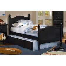 Midnight Arched Panel Bed