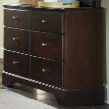 <strong>Carolina Furniture Works, Inc.</strong> Premier 6 Drawer Dresser