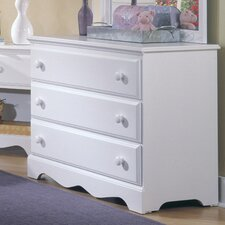 <strong>Carolina Furniture Works, Inc.</strong> Carolina Cottage 3 Drawer Dresser