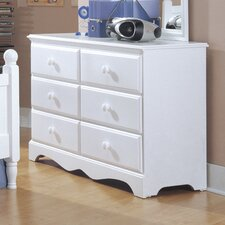 Carolina Cottage 6 Drawer Dresser