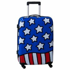 "Stars n' Stripes 25"" Hardside Spinner Suitcase"