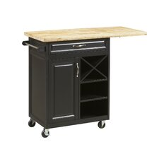 New Visions by Lane Kitchen Cart with Worktop