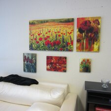 Stretched 5 Piece Painting Print on Canvas Set