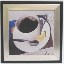 Kitchen Coffee Cup Framed Photographic Print