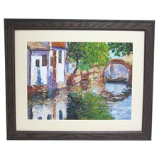 Premier Gondona Bridge Framed Painting Print