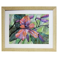 Premier Flowers in Bloom II Framed Painting Print