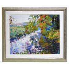 Premier River Ripple Framed Painting Print