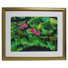 Premier Lotus Framed Painting Print