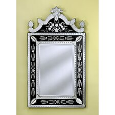 Natasha Small Wall Mirror in Black