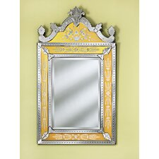 <strong>Venetian Gems</strong> Natasha Medium Wall Mirror in Gold