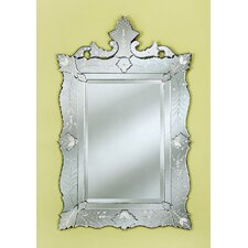 <strong>Venetian Gems</strong> Ruby Wall Mirror