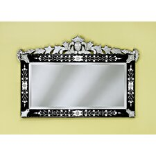 Loreta Venetian Wall Mirror in Black