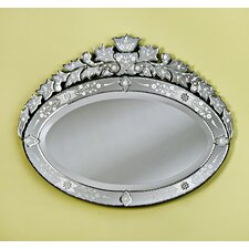 <strong>Venetian Gems</strong> Lea Medium Venetian Mirror