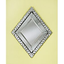 <strong>Venetian Gems</strong> Diamond Venetian Mirror