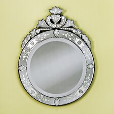 Large Round Venetian Wall Mirror