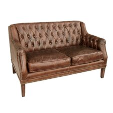 Daley Leather Settee