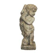 Child with Garland Statue