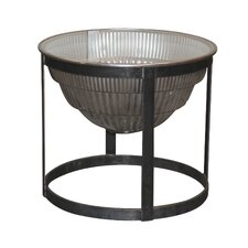 Warehouse Light End Table