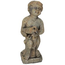 Child with Jug Statue