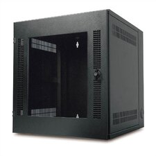 NetShelter WX Wall Mount Enclosure with 13U Glass Door