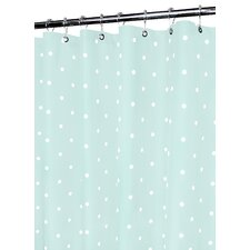 Classics Polyester Polka Dot Shower Curtain