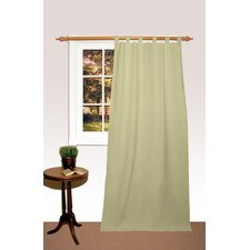 Dune Tab Top Curtain Single Panel