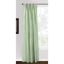 <strong>Eileen West</strong> Silk 3 Pinch Pleat Curtain Single Panel
