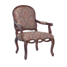 Harvard Carved Arm Chair