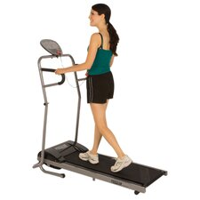 350 Space Saver Power Walking Electric Treadmill with Heart Pulse Sensors