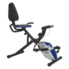 <strong>ProGear</strong> 190 Compact Space Saver Recumbent Bike with Heart Pulse Sensors