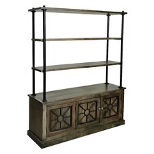 "<strong>Coast to Coast Imports LLC</strong> 2 Door 72"" Bookcase"