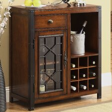 Carolina Preserves 9 Bottle Wine Cabinet