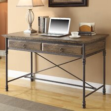 Executive Writing Desk with 2 Drawer