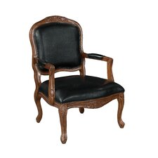 <strong>Coast to Coast Imports LLC</strong> Leather Arm Chair