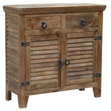 <strong>Coast to Coast Imports LLC</strong> 2 Drawer 2 Door Cabinet