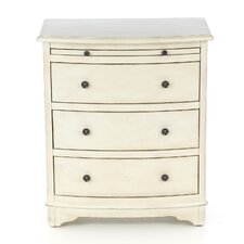 <strong>Coast to Coast Imports LLC</strong> 4 Drawer Chairside Accent Chest